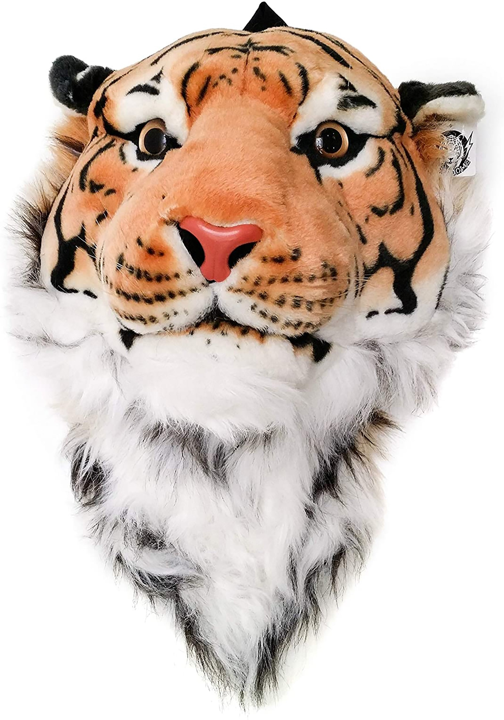 Bengal Orange Tiger Animal Head Backpack and Wall Mount
