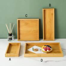 1pc Wooden Tray