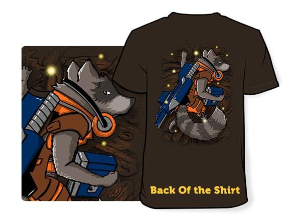 Raccoon Ride Along T Shirt