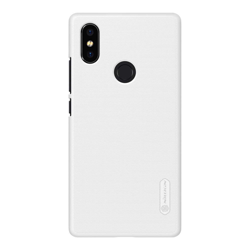 NILLKIN Hard Phone Case For Xiaomi Mi8 SE Protective Back Cover - White