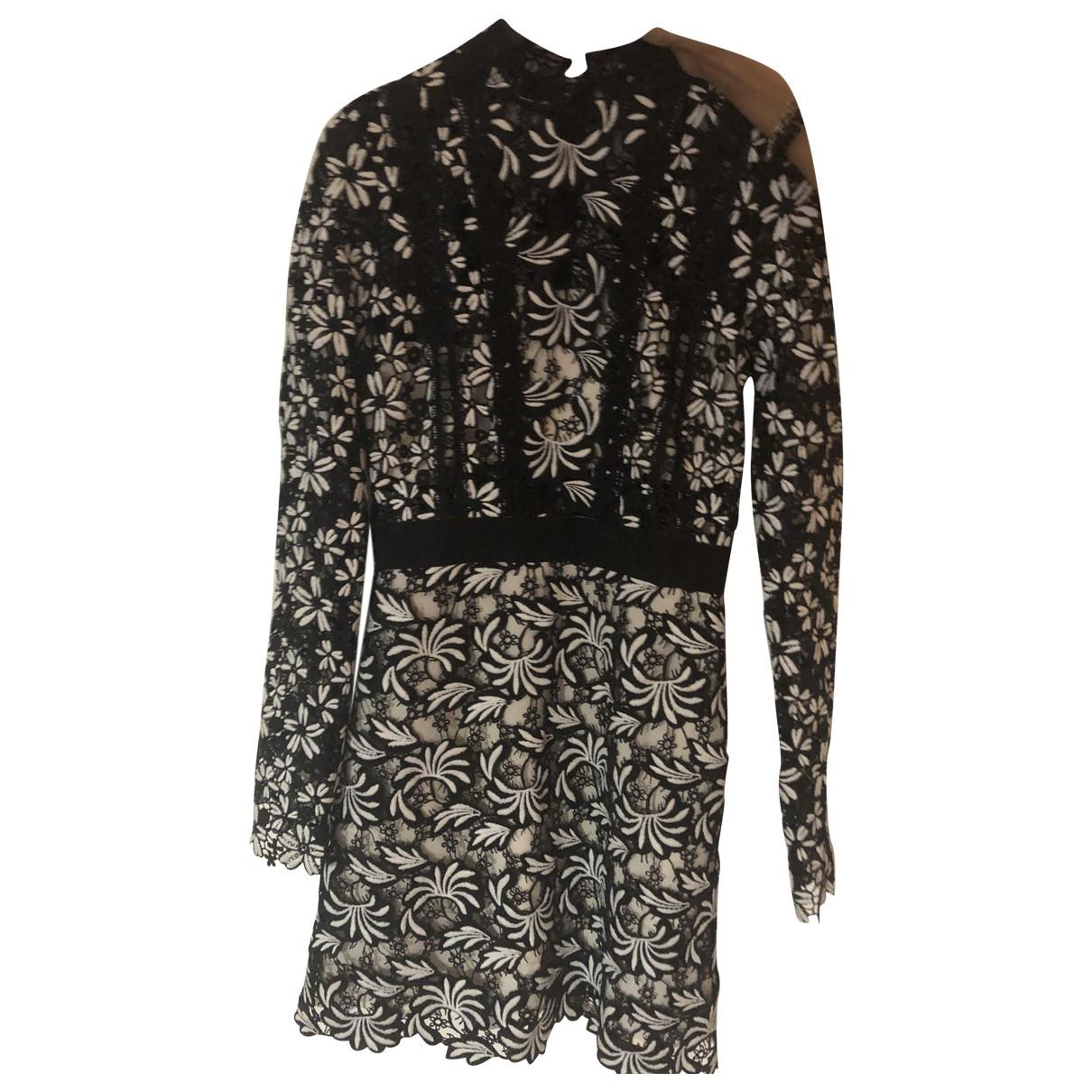 Self Portrait \N Black Lace dress for Women 6 UK