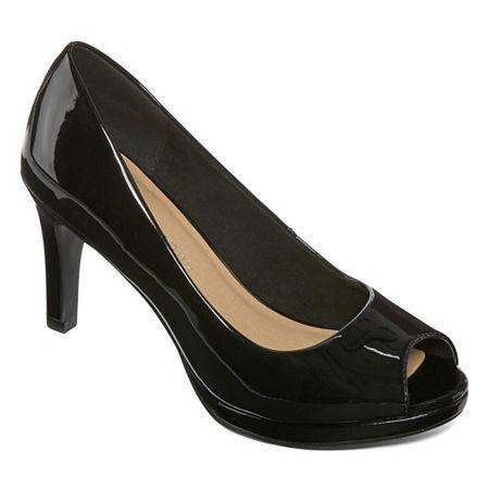CL by Laundry Womens Nakia Pumps Stiletto Heel, 10 Medium, Black
