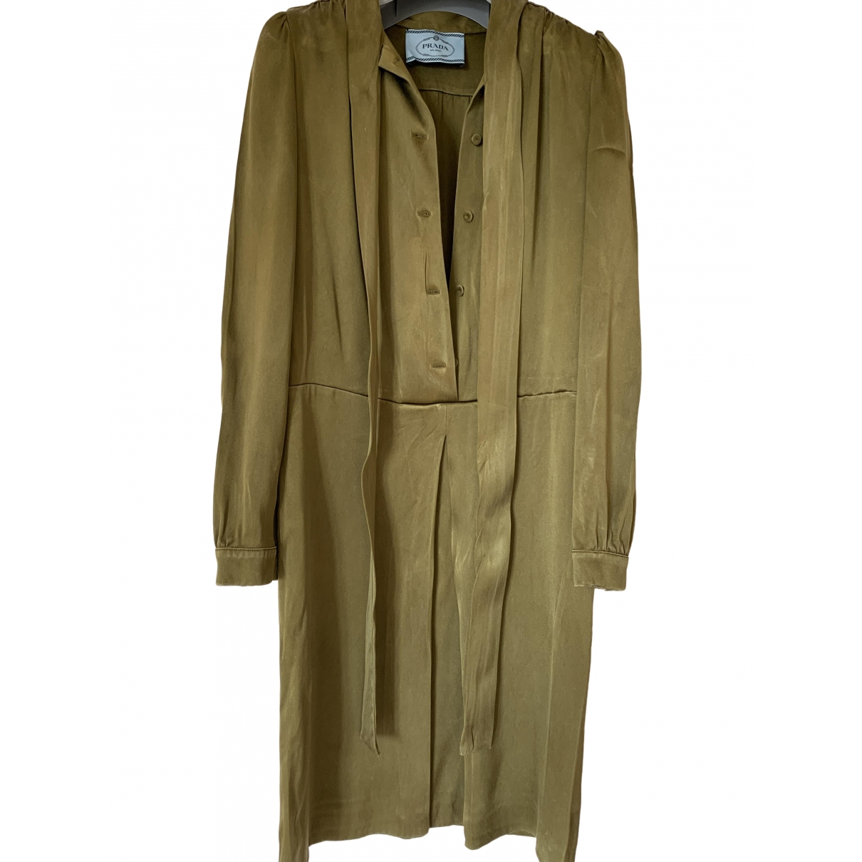 Prada \N Khaki dress for Women 38 FR