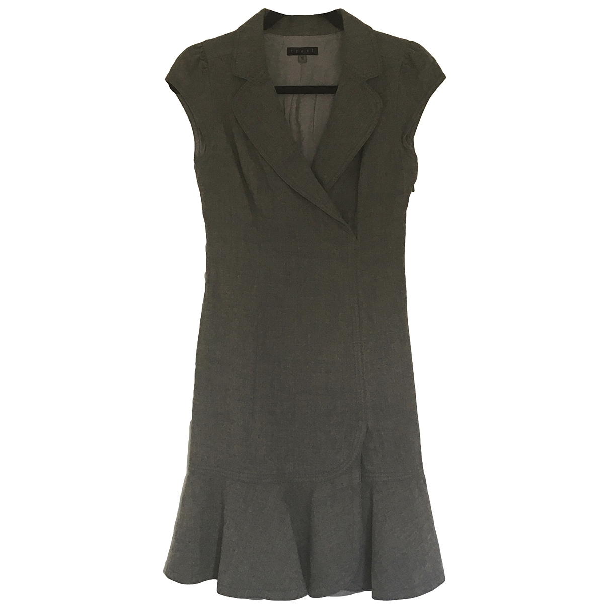 Coast \N Grey Wool dress for Women 10 UK