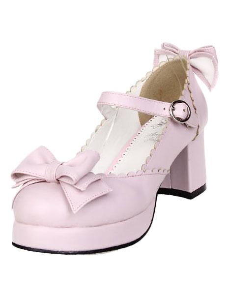 Milanoo Bows Decor Lolita Shoes
