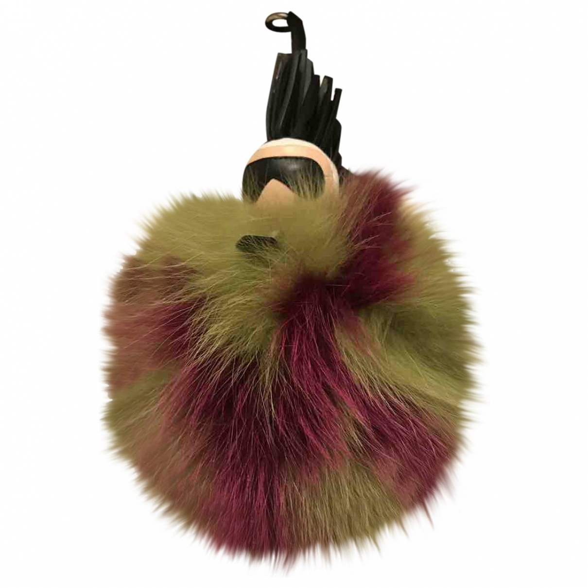 Fendi Pompon Karl Multicolour Fox Bag charms for Women \N