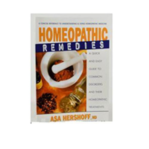 Homeopathic Remedies Hershoff by Books & Media