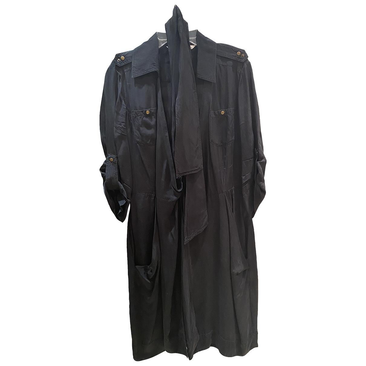 Diane Von Furstenberg \N Black Silk dress for Women 4 US