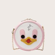 Girls Cartoon Design Box Bag