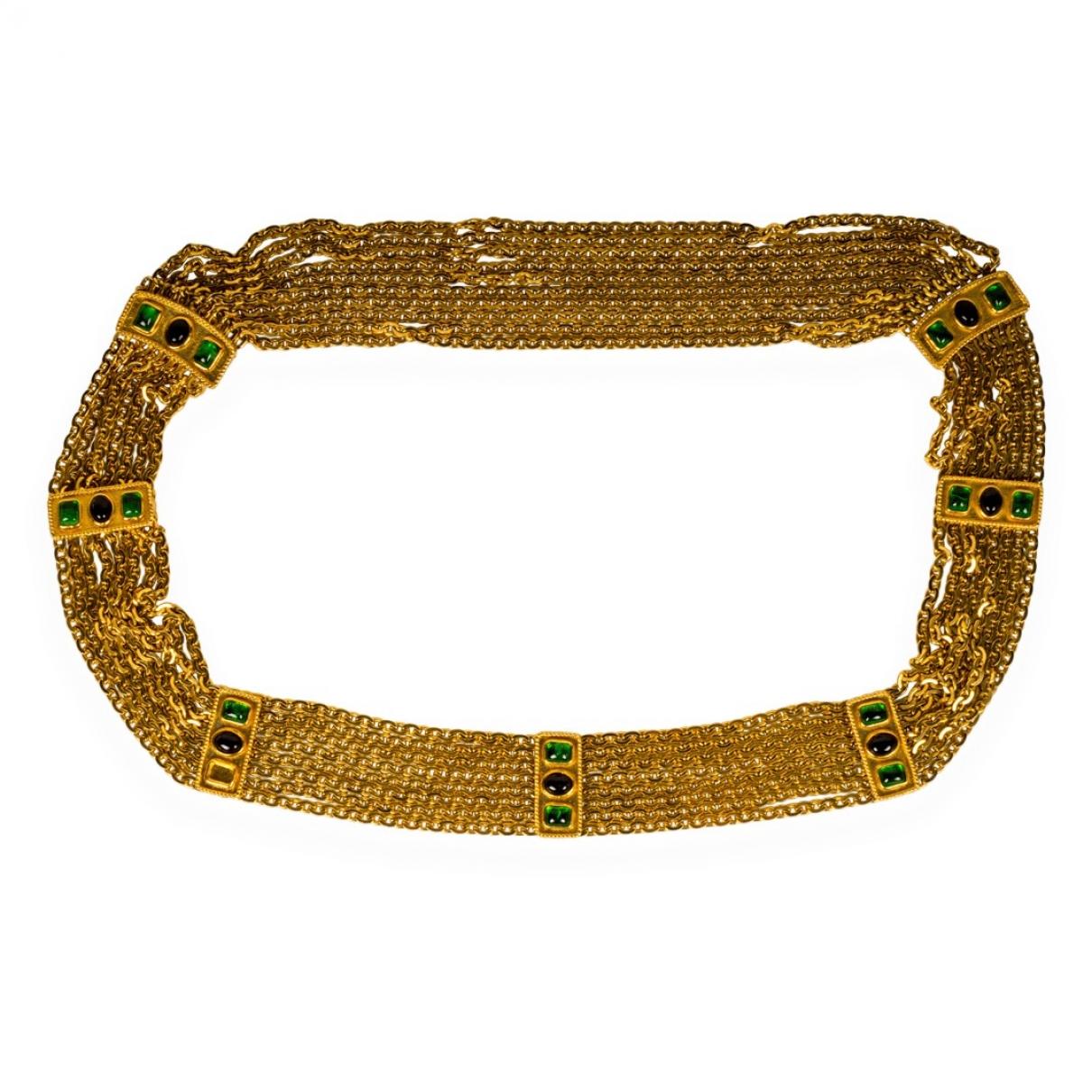 Chanel \N Gold Chain belt for Women 75 cm