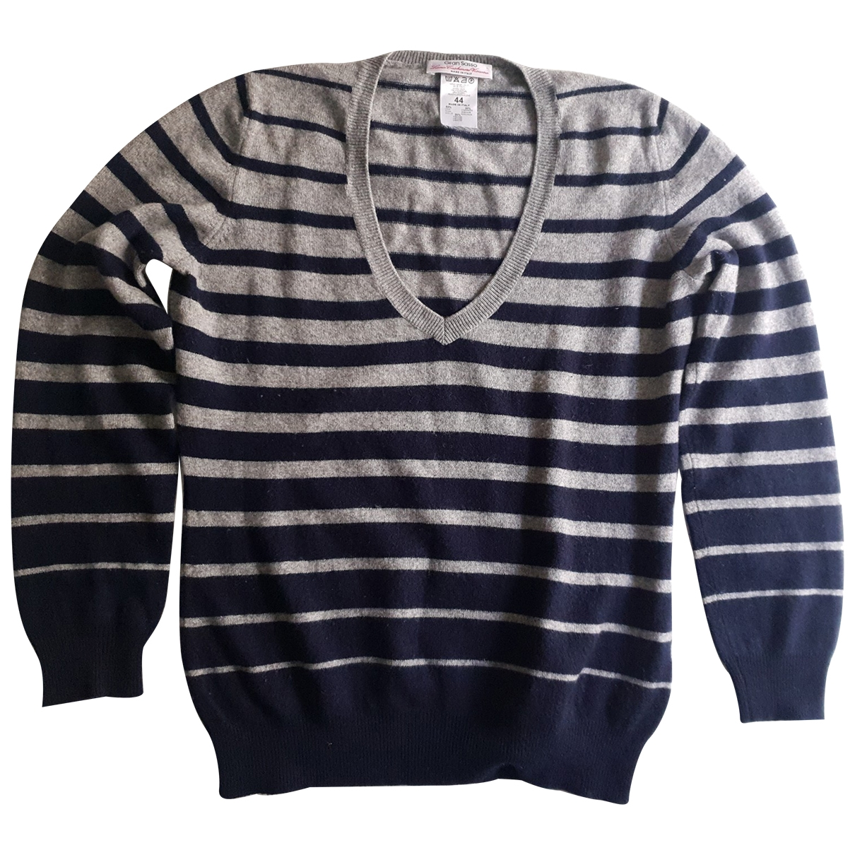 Non Signé / Unsigned \N Blue Wool Knitwear for Women 44 IT