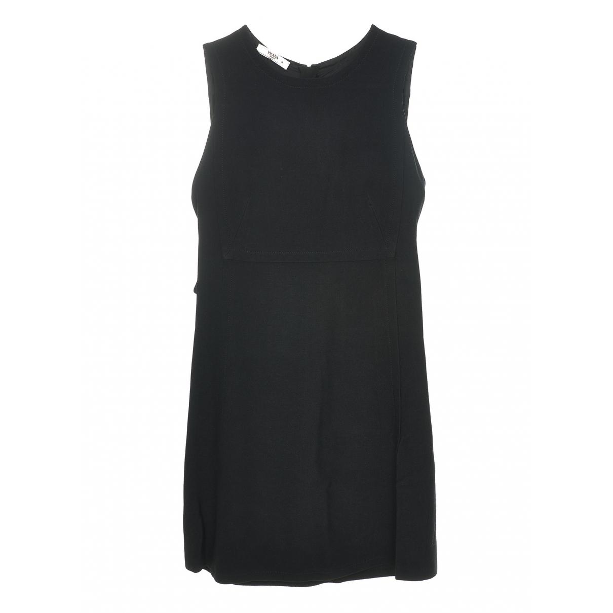 Prada \N Black Cotton dress for Women 38 IT