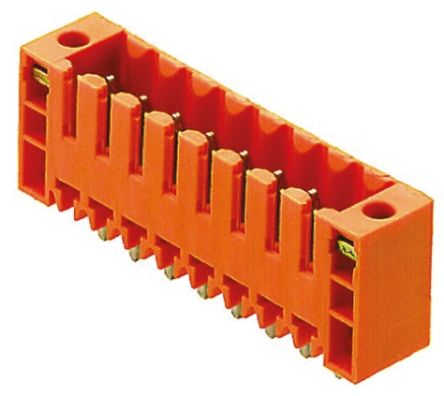 Weidmüller , OMNIMATE SL, 5 Way, 1 Row, Straight PCB Header (5)