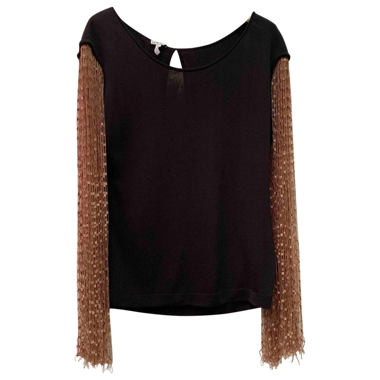 Loewe \N Black Cotton  top for Women XS International