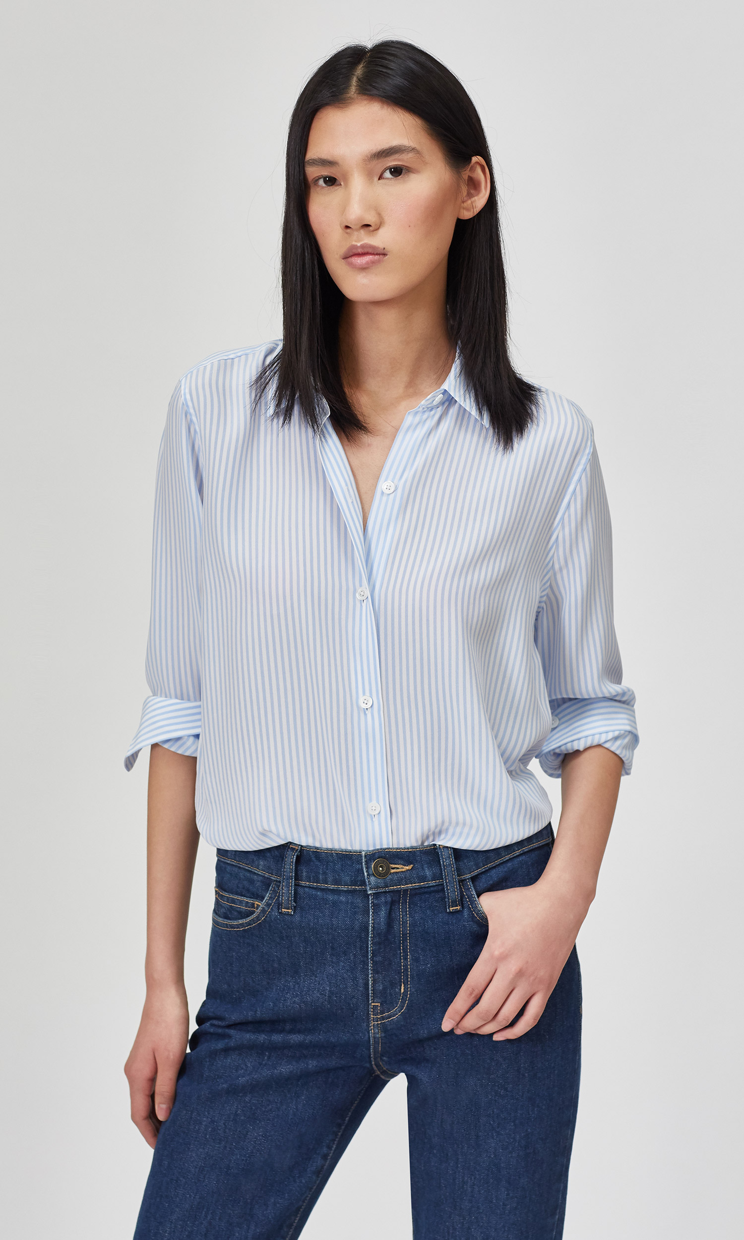 Essential Silk Shirt by Equipment