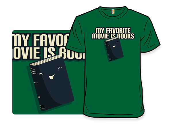 Books Are My Favorite T Shirt