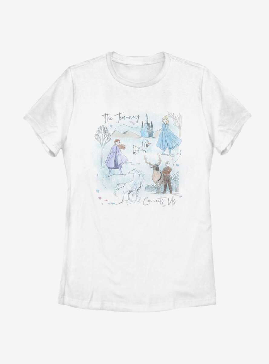 Disney Frozen 2 Arendelle Journey Womens T-Shirt