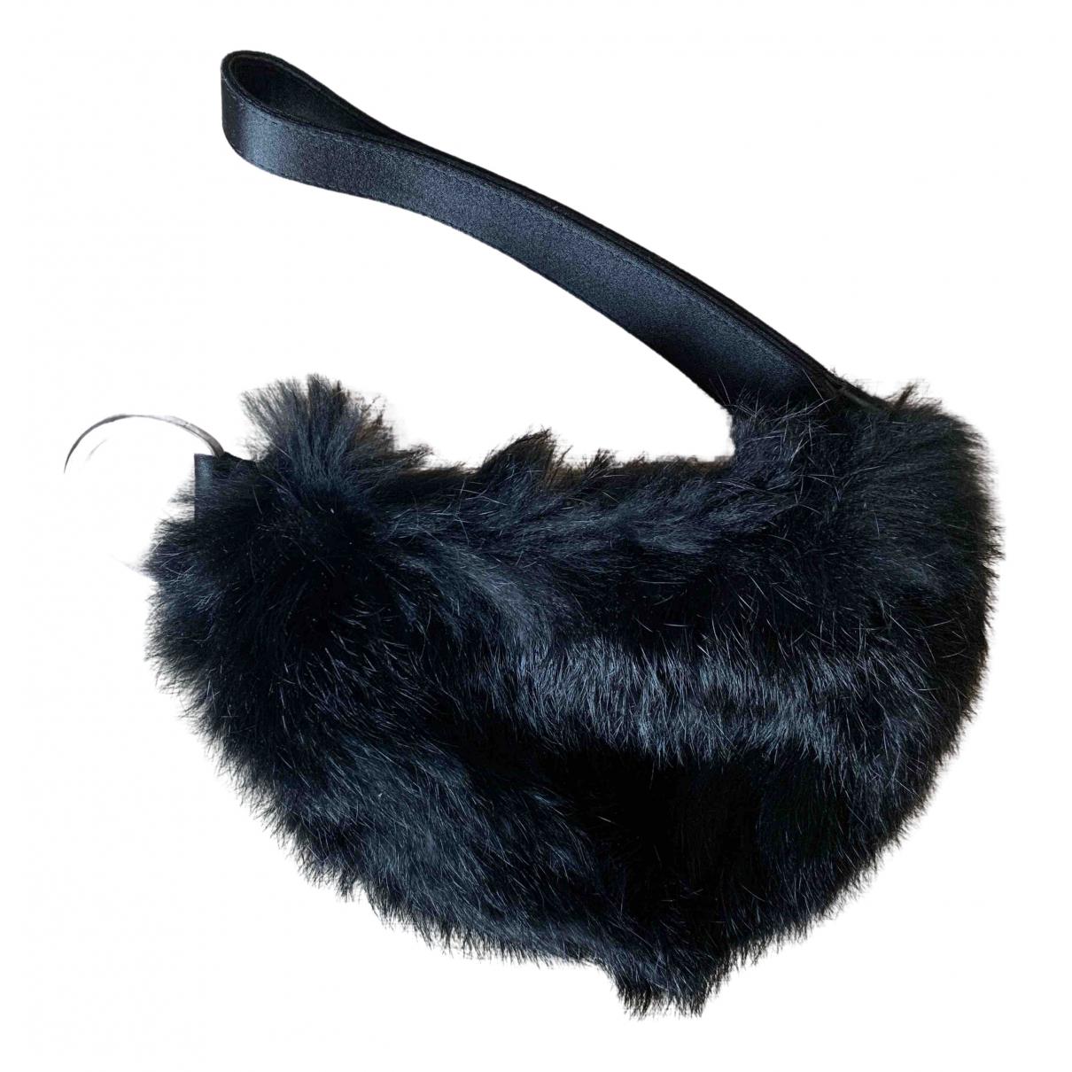 Gucci \N Black Mink handbag for Women \N
