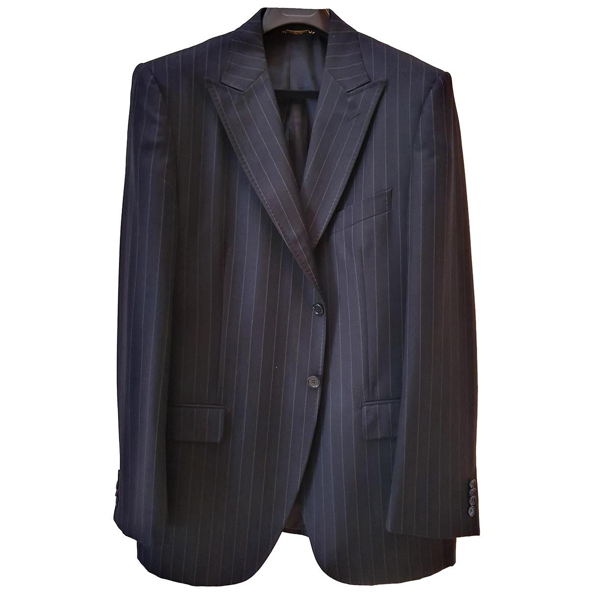 Dolce & Gabbana \N Black Wool jacket  for Men 56 FR
