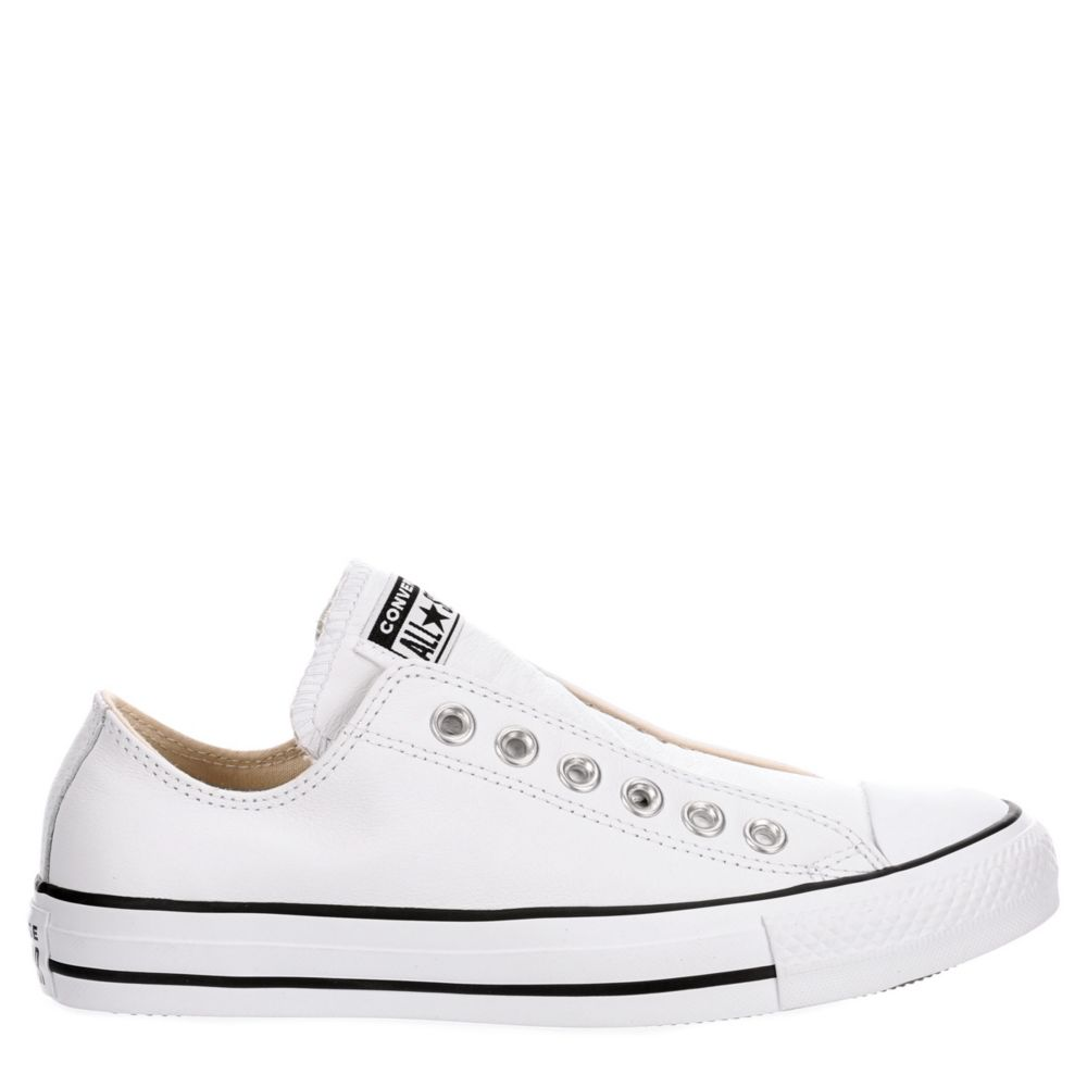 Converse Womens Chuck Taylor All-Star Low-Top Slip-On Shoes Sneakers
