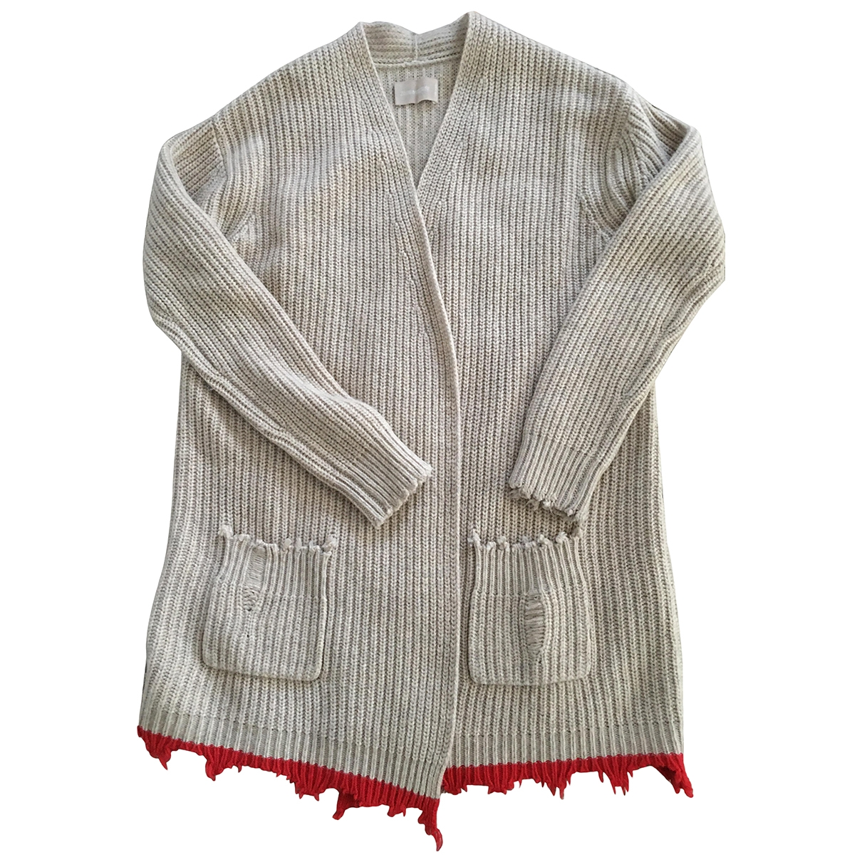 Zadig & Voltaire \N Beige Wool Knitwear for Women M International