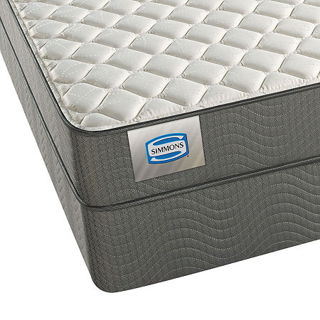 Simmons Archmore Firm - Mattress + Box Spring, One Size , Gray
