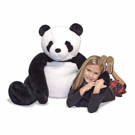 Melissa & Doug Panda Plush, One Size , Multiple Colors