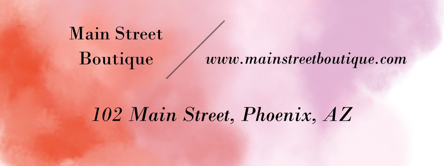 Retail & Food Business Address Labels, Set of 36, Business Printing -Watercolor Wash