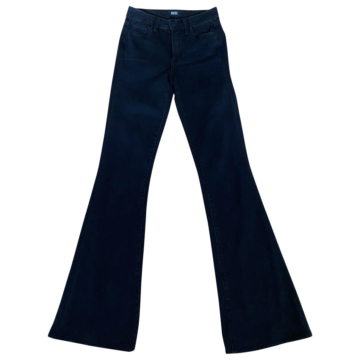 Paige Jeans \N Grey Denim - Jeans Trousers for Women XS International