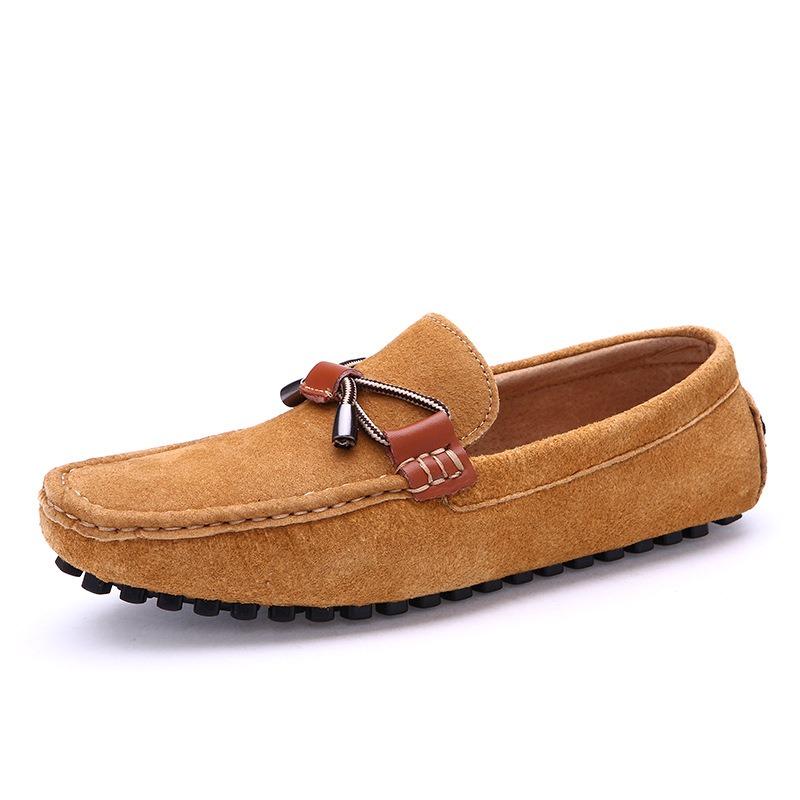 Ericdress Plain Low-Cut Upper Slip-On Men's Loafers