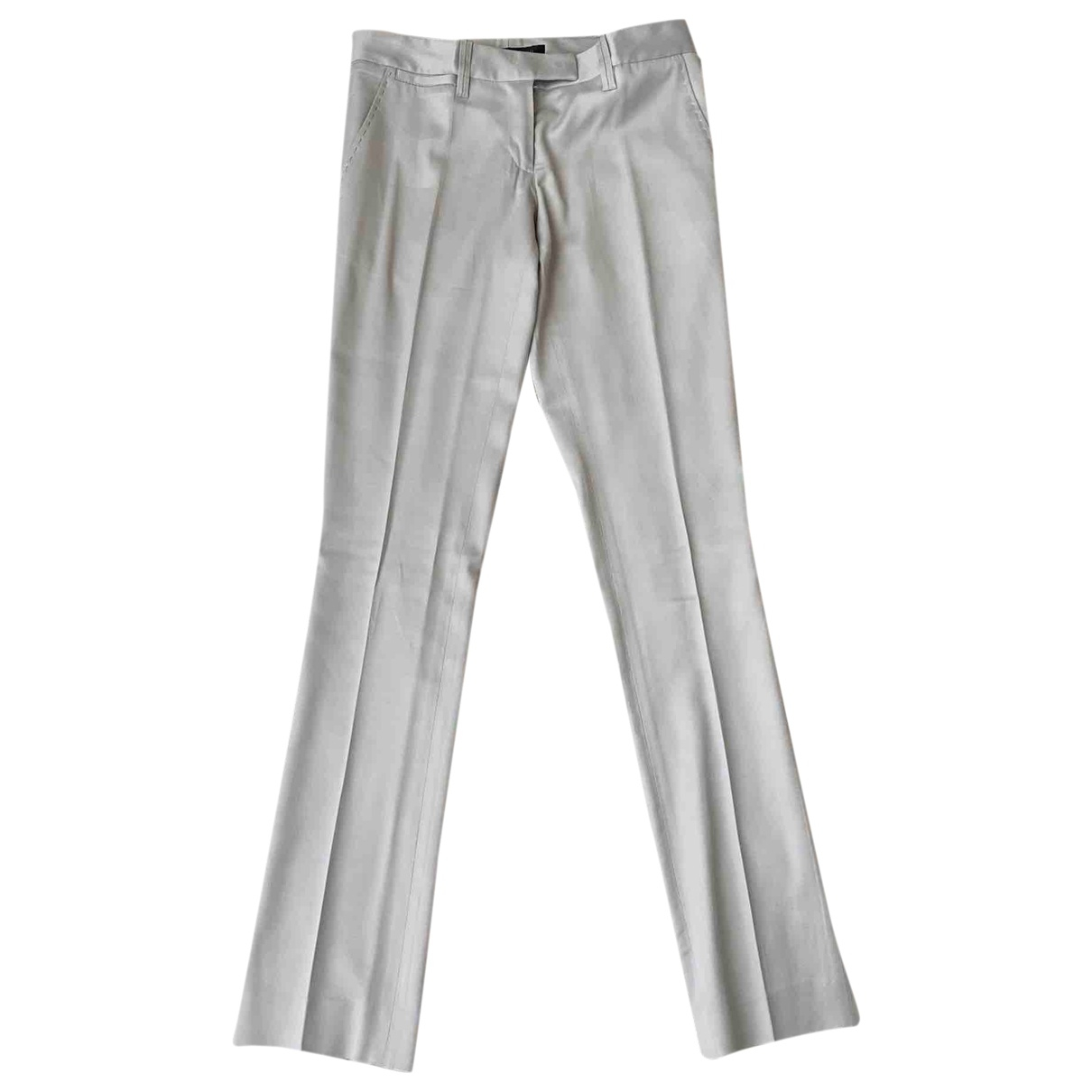 Barbara Bui \N Beige Trousers for Women 34 FR