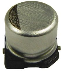 NIC Components 100μF Electrolytic Capacitor 50V dc, Surface Mount - NAZV101M50V10X10.5LBF (5)