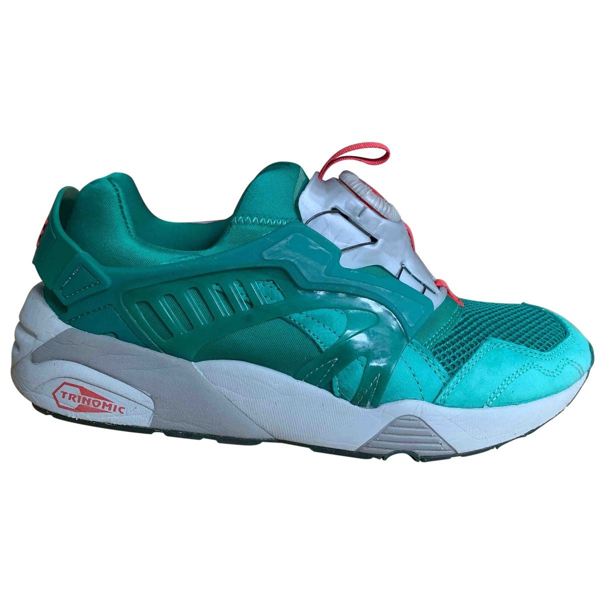 Puma \N Green Cloth Trainers for Men 40.5 EU