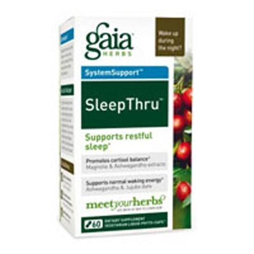 SleepThru 60 vcaps by Gaia Herbs
