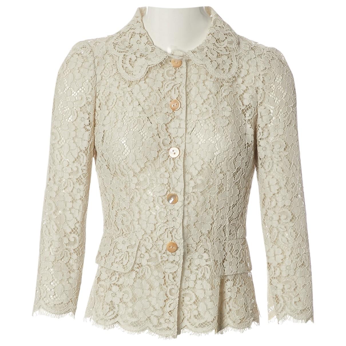 Dolce & Gabbana \N Beige jacket for Women 38 IT