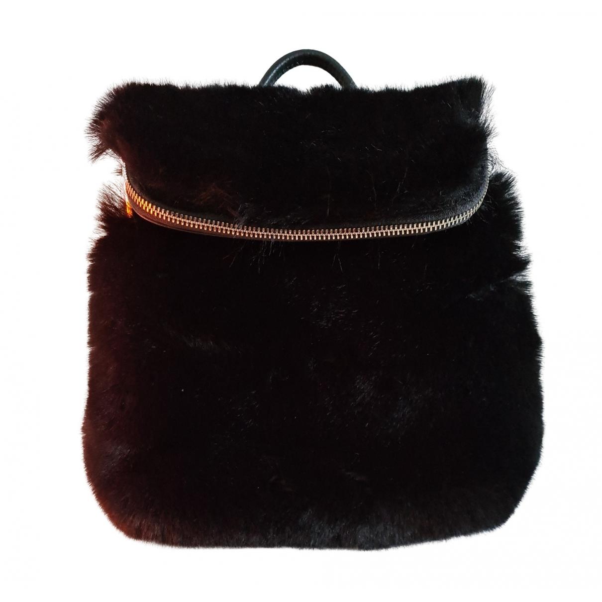 Whistles \N Black Fur backpack for Women \N