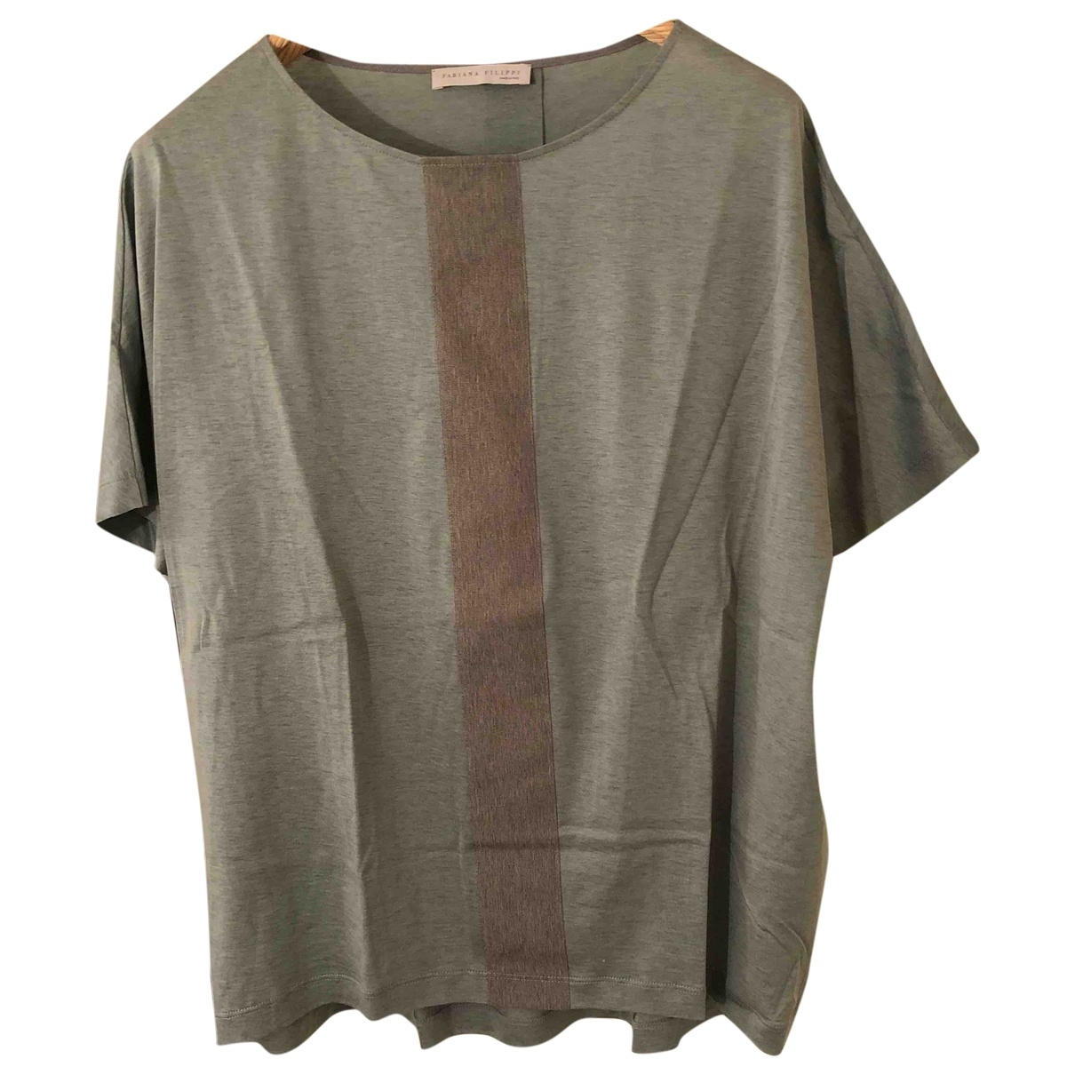 Fabiana Filippi \N Green  top for Women 48 IT