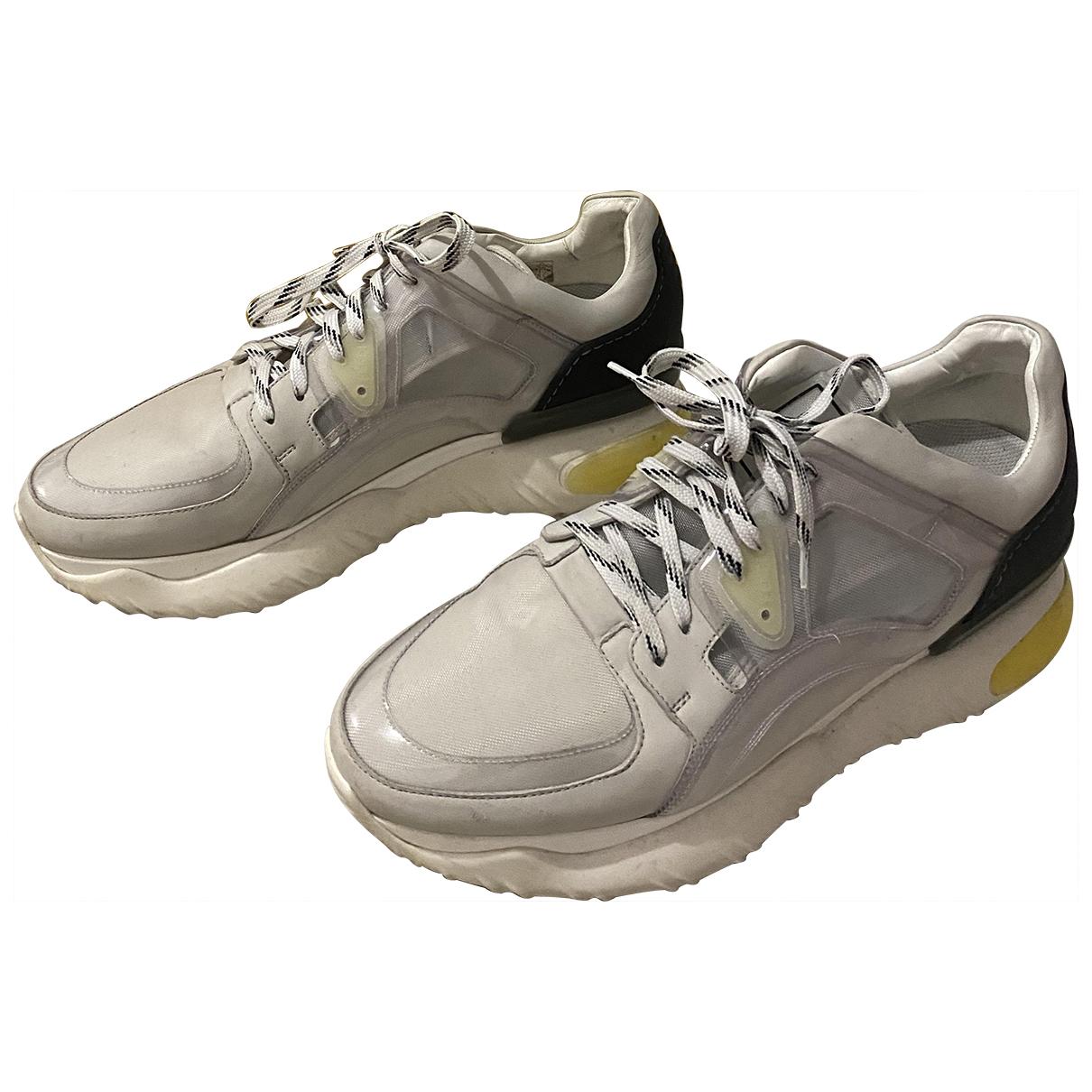 Fendi \N Grey Cloth Trainers for Men 42.5 EU