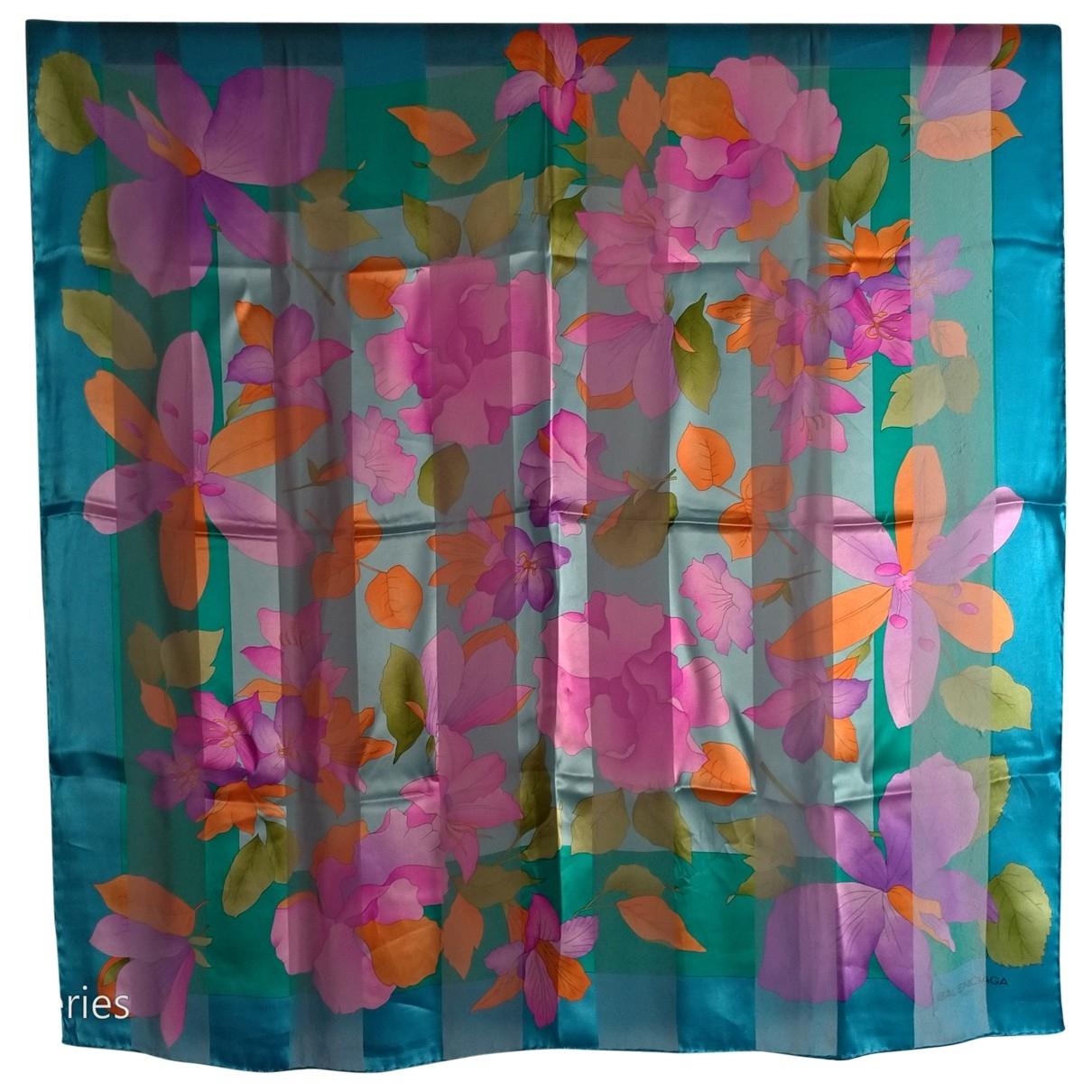 Balenciaga \N Multicolour Silk Silk handkerchief for Women \N