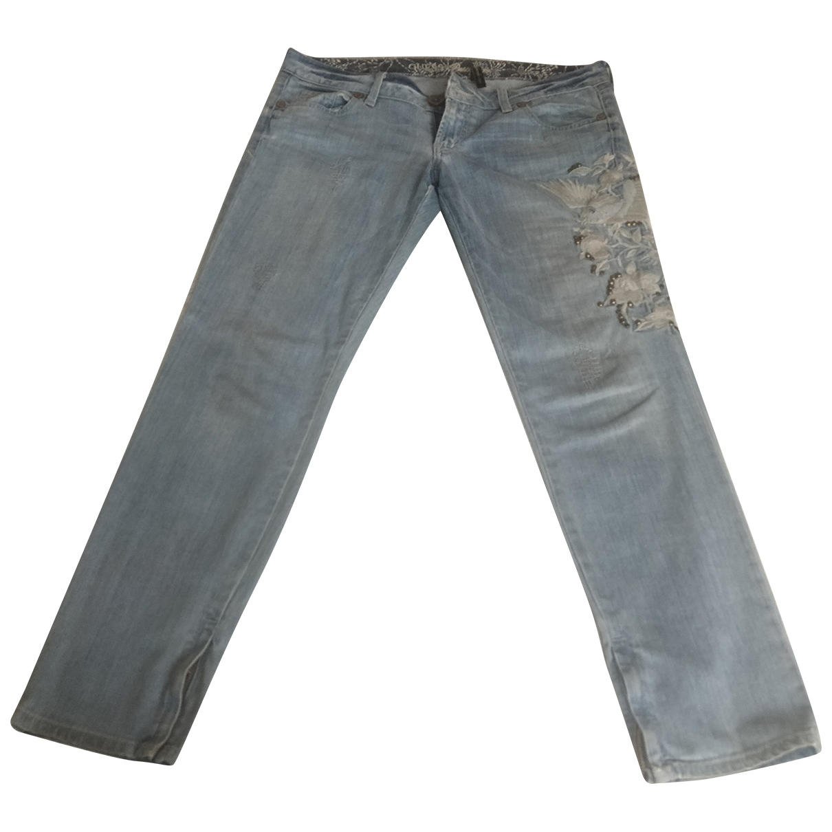 Guess \N Blue Cotton - elasthane Jeans for Women 31 US