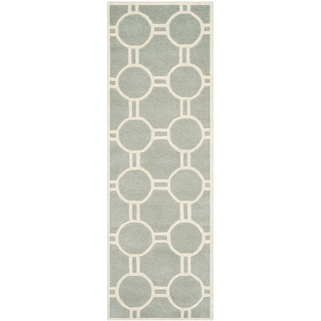 Safavieh Brion Geometric Hand-Tufted Wool Rug, One Size , Gray