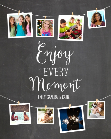 Everyday 16x20 Adhesive Poster, Home Décor -Enjoy Every Moment