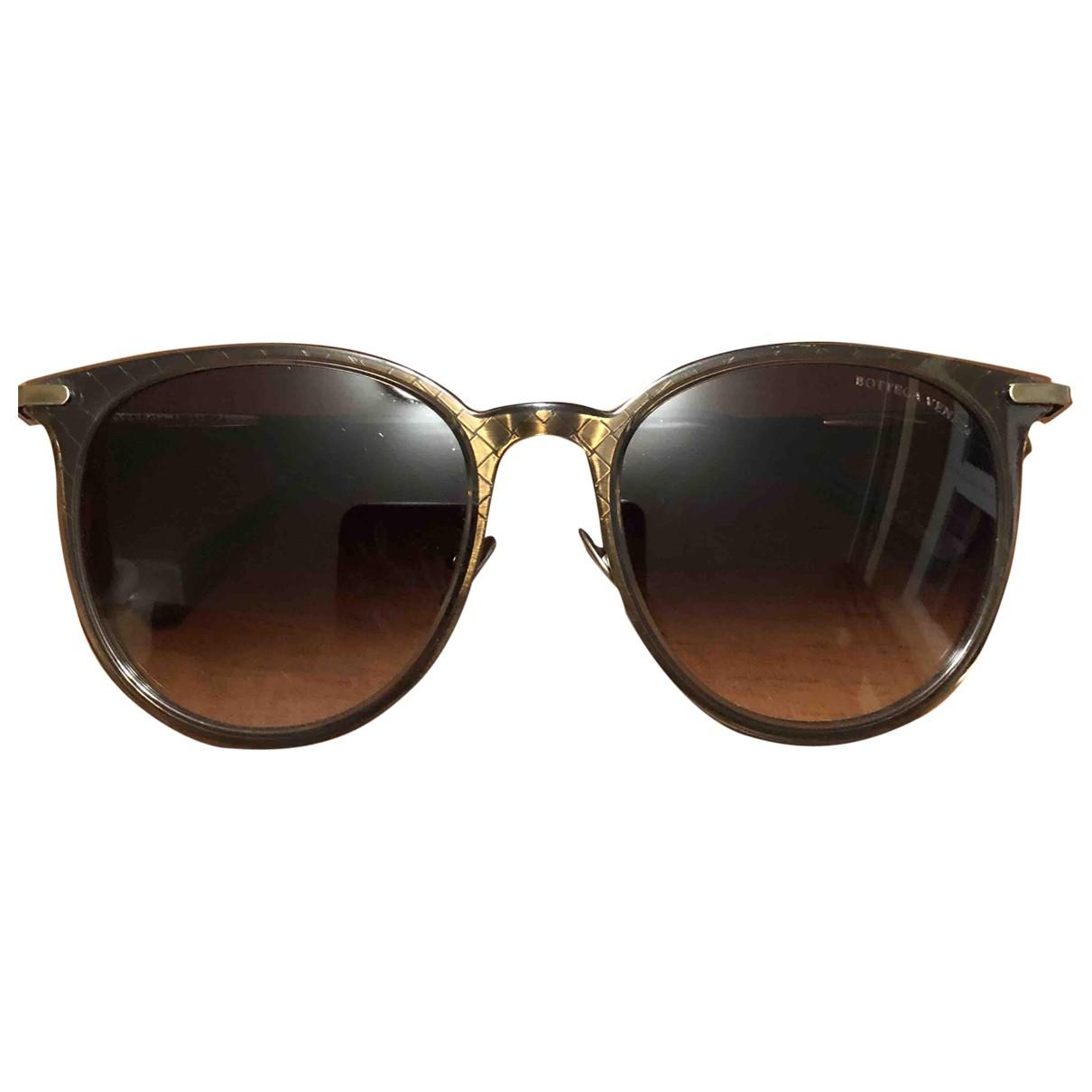 Bottega Veneta \N Anthracite Metal Sunglasses for Women \N