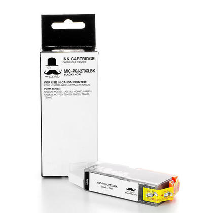 Compatible Canon PIXMA MG6820 Pigment Black Ink Cartridge by Moustache, High Yield