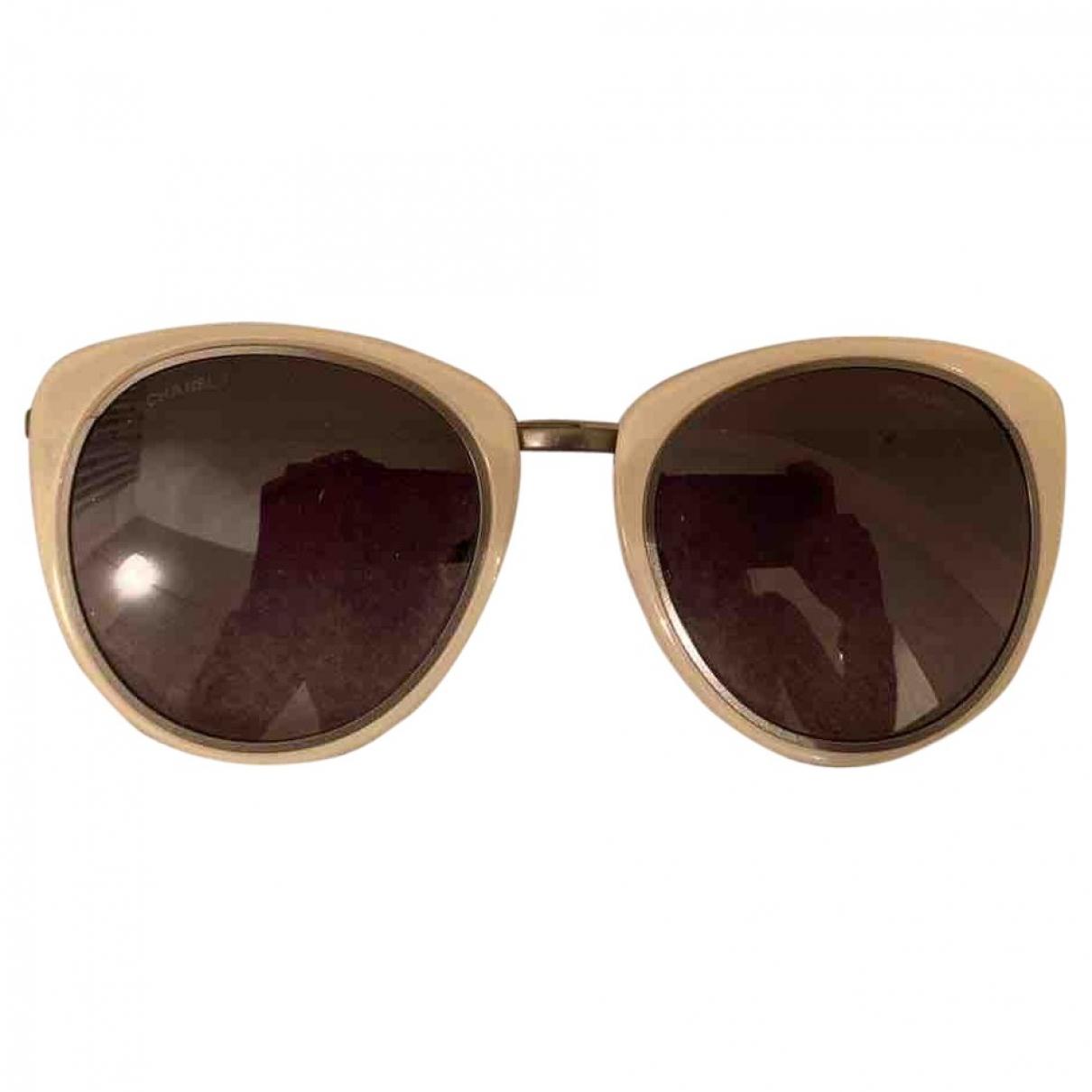Chanel \N Ecru Sunglasses for Women \N