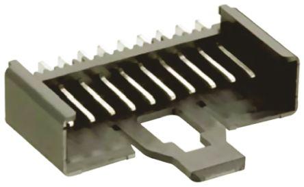 Lumberg , Minimodul, 8 Way, 1 Row, Right Angle PCB Header (10)