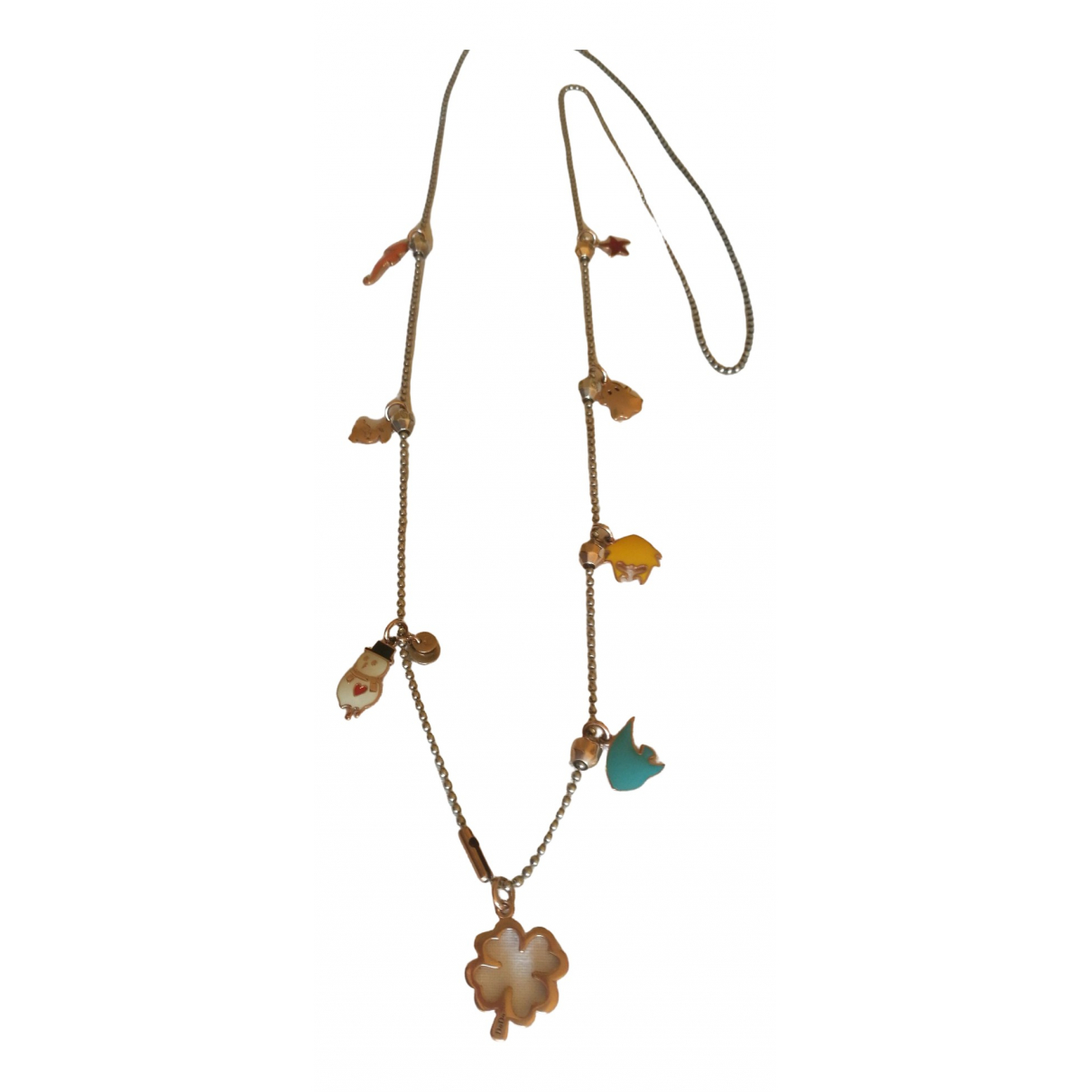 Dodo Pomellato \N Pink gold necklace for Women \N