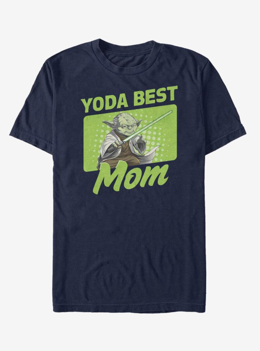 Star Wars Yoda Best Mom T-Shirt