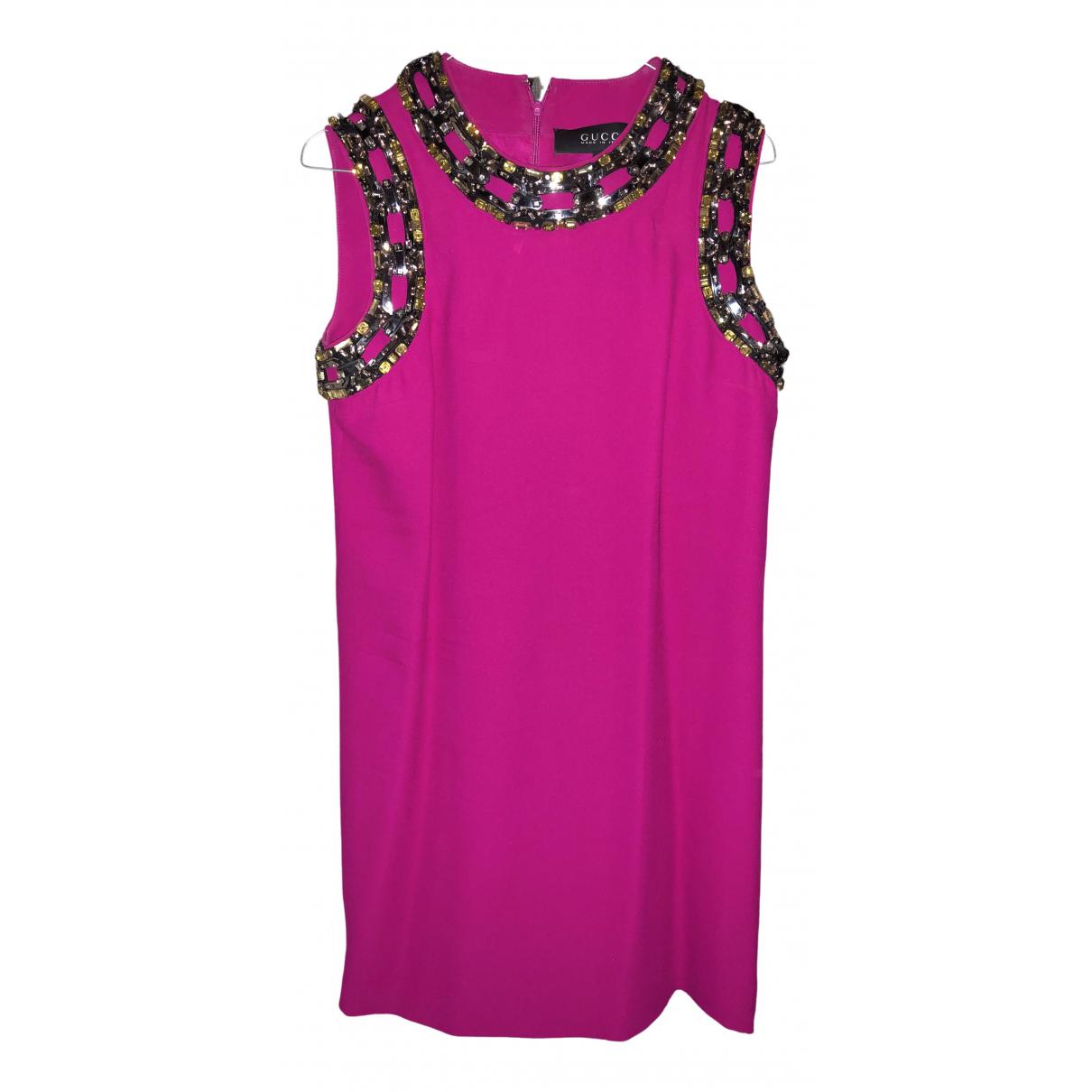 Gucci \N Pink dress for Women 42 IT
