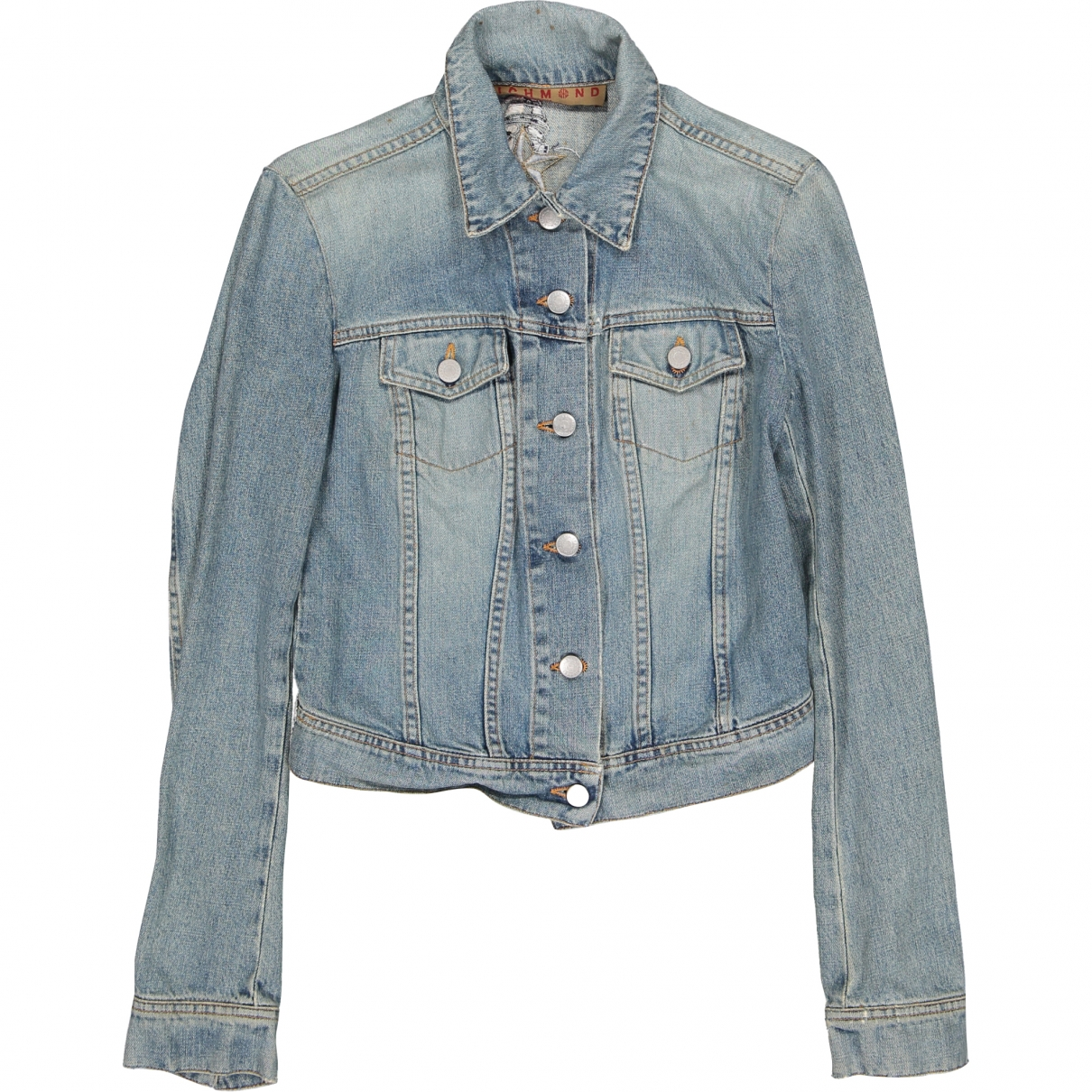 John Richmond \N Blue Cotton jacket for Women 38 FR